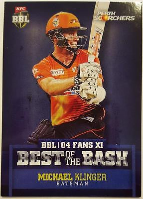 2015-16 Tap'n'play CA BBL 05 Cricket, Best of the Best, Michael Klinger