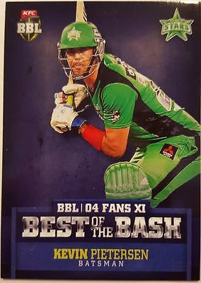 2015-16 Tap'n'play CA BBL 05 Cricket, Best of the Bash, Kevin Pietersen, Stars
