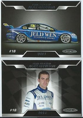 2013 ESP V8 Supercars, Ford Team Jeld-wen Racing Team Set, ALEX DAVISON