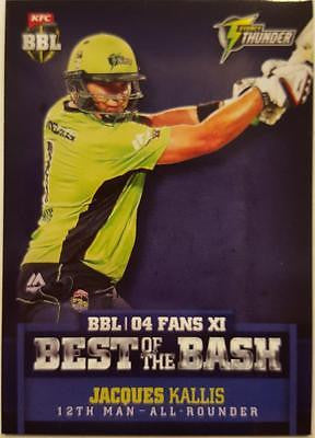 2015-16 Tap'n'play CA BBL 05 Cricket, Best of the Bash, Jacques Kallis