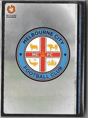 Melbourne City - 2015-16 Tap'n'play FFA A-League Soccer Silver Parallel Team Set