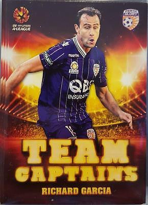2015-16 Tap'n'play FFA A-League Soccer, Team Captains, Richard Garcia, # TC-09