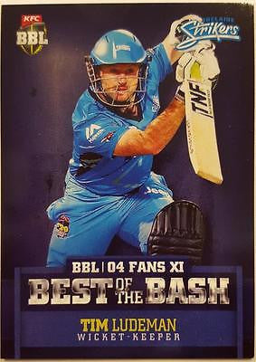 2015-16 Tap'n'play CA BBL 05 Cricket, Best of the Bash, Tim Ludeman, Strikers
