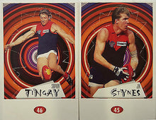 1997 Select Melbourne Demons Pop-up Set, Neitz, Lyon, Stynes, Tingay