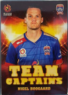 2015-16 Tap'n'play FFA A-League Soccer, Team Captains, Nigel Boogaard, # TC-08