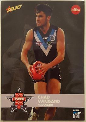 2015 Select AFL Under 22, Chad Wingard, Port Adelaide Power