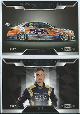 2013 ESP V8 Supercars, Mercedes Benz HHA Racing Team Set, TIM SLADE