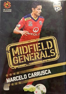2015-16 Tap'n'play FFA A-League Soccer Midfield Generals Marcelo Carrusca #MG-03