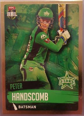 2015-16 Tap'n'play CA BBL 05 Cricket, Gold Parallel, John Hastings, Stars, #125