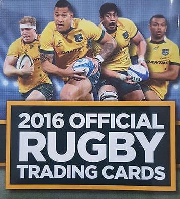 2016 Tap'n'play Official ARU Rugby, Sealed Box of Cards