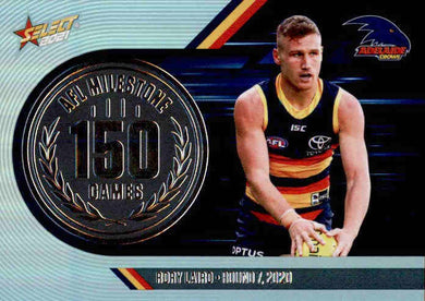 Rory Laird, 150 Games Milestone, 2021 Select AFL Footy Stars