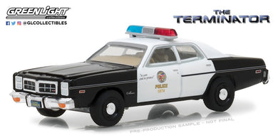 The Terminator, 1977 Dodge Monaco Metropolitan Police, 1:24 Diecast Vehicle