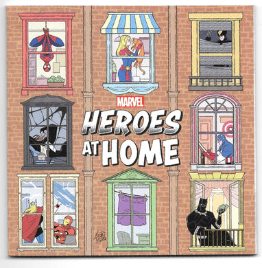 Marvel Heroes at Home Comic