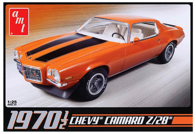 1970 1/2 Chevy Camaro Z/28 Plastic Kit, 1:25 Scale Model Kit