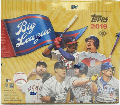 2019 Topps Big League Hobby Baseball MLB Box