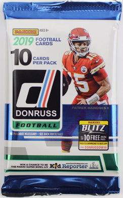 2019 Donruss Football NFL Pack
