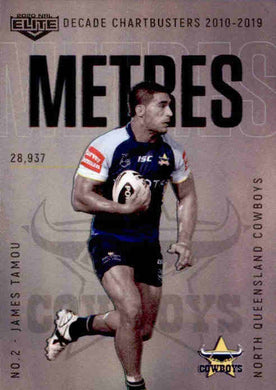James Tamou, DC14, Decade Chartbusters, 2020 TLA Elite NRL