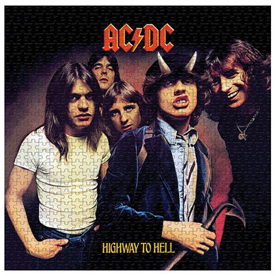 AC/DC Highway to Hell, 1000 Piece Jigsaw Puzzle