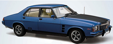 Classic Carlectables Holden HX Monaro GTS Deauville Blue Metallic, 1:18 Scale Diecast Vehicle