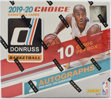 2019-20 Panini Donruss Basketball Choice Box