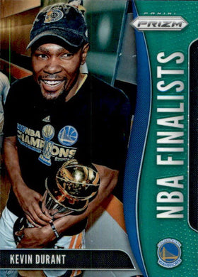 2019-20 Prizm Basketball NBA Finalists Kevin Durant GREEN Refractor