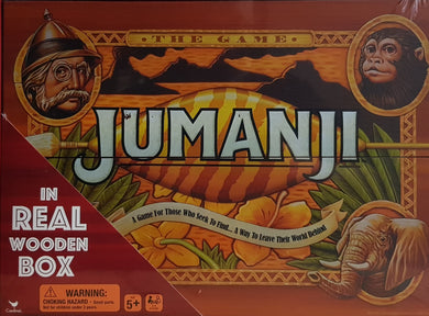 JUMANJI 'THE GAME' - IN REAL WOODEN BOX, BOARD GAME