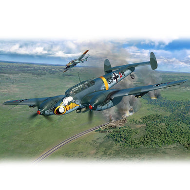 REVELL MESSERSCHMITT BF110 C-7, 1:32 Scale  Model Kit