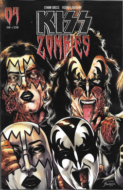 Kiss Zombies #4, Cover C Comic