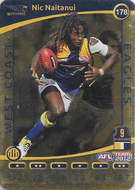 Nic Naitanui, Gold, 2012 Teamcoach AFL