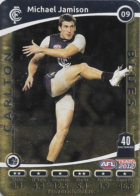 Michael Jamison, Gold, 2012 Teamcoach AFL
