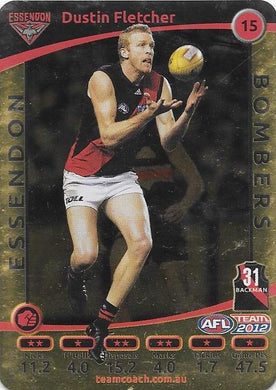Dustin Fletcher, Gold, 2012 Teamcoach AFL
