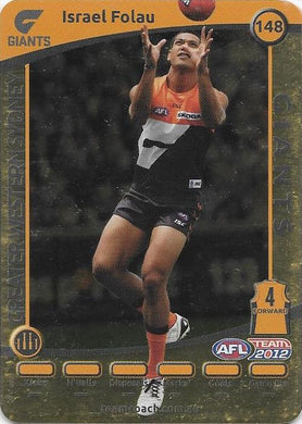Israel Folau, Gold, 2012 Teamcoach AFL