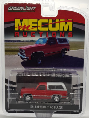 1991 Chevrolet K-5 Blazer, Mecum Auctions, 1:64 Diecast Vehicle