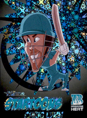Chris Lynn, Black Startoons #52, 2020-21 TLA Cricket Australia and BBL