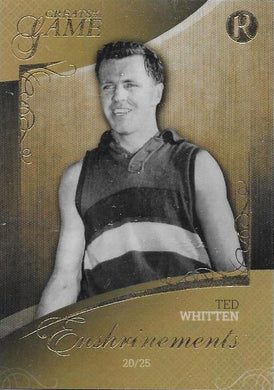Ted Whitten, Enshrinements, 2017 Regal Football Greats of the Game