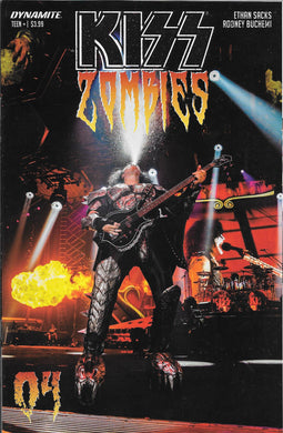 Kiss Zombies #4, Cover D Comic