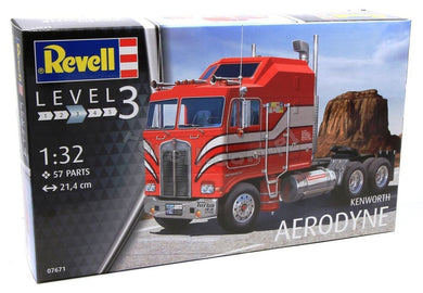 REVELL KENWORTH  AERODYNE Truck Model Kit