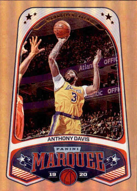 Anthony Davis, Marquee, 2019-20 Panini Chronicles NBA Basketball