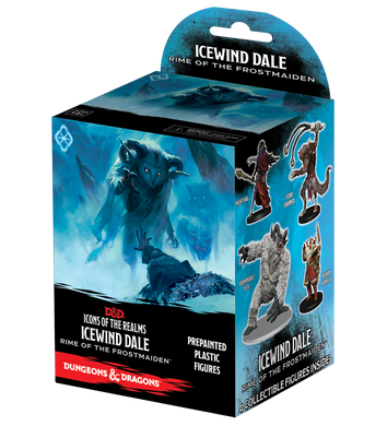 Dungeons & Dragons D&D Icons of the Realms Icewind Dale Rime of the Frostmaiden Booster