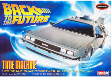 Back to the Future Time Machine Plastic Kit, 1:25 Scale Model Kit