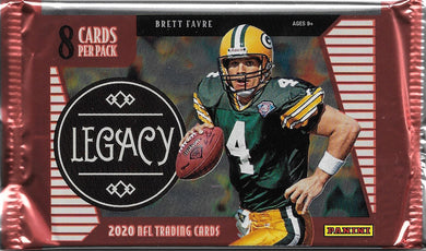 2020 Panini Legacy Football NFL Hobby Pack