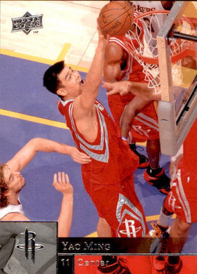 Yao Ming, 2009-10 Upper Deck Basketball NBA