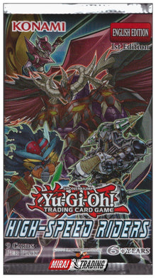 Yu-Gi-Oh TCG High Speed Riders Pack