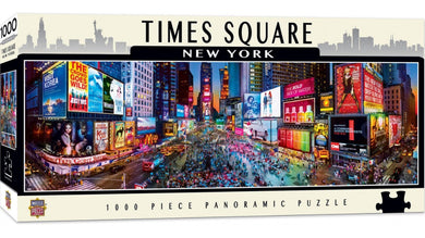 Masterpieces Puzzle City Panoramic New York Times Square Puzzle 1,000 pieces Jigsaw Puzzle