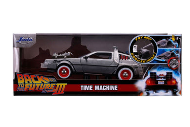 Back to the Future 3 - Delorean 1:24 Scale Diecast Hollywood Ride