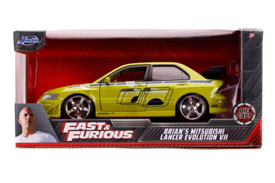 Fast & Furious - Brian's 2002 Mitsubishi Lancer Evolution VII 1:24 Scale Diecast Vehicle