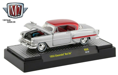 1954 Chevrolet Bel Air, Kustoms, M2 Machines, 1:64 Diecast Vehicle