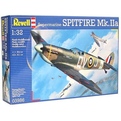 REVELL SUPERMARINE SPITFIRE Mk.IIa, 1:32 Scale MODEL KIT