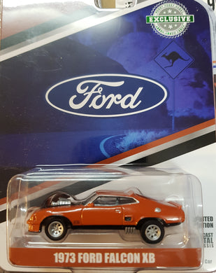 1973 Ford Falcon XB, Custom Burnt Orange, 1:64 Diecast Vehicle