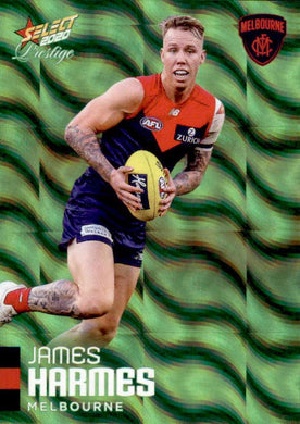 James Harmes, Green Parallel, 2020 Select AFL PRESTIGE Footy Stars